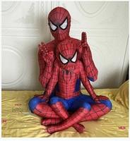 New Mens Adult Childrens Boy Halloween Spiderman Cosplay Costumes Lycra Zentai SuperHero Costume Full Body Suit