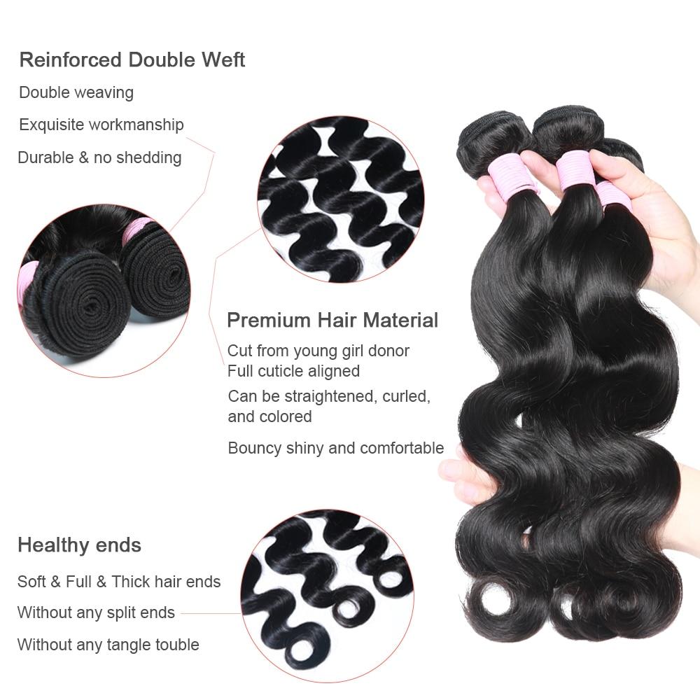 Hair Brazilian Closure Bundles