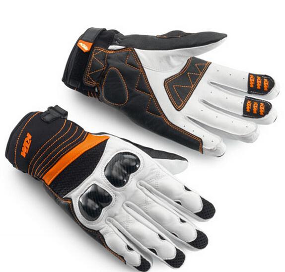 Envío gratis venta caliente más nuevos modelos 2014 guantes KTM moto guantes Suvs guantes de cuero de carreras