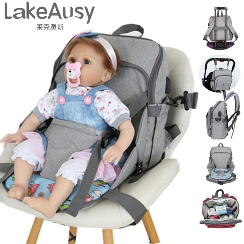 Многофункциональная сумка для мам, водонепроницаемый рюкзак, модная сумка через плечо, дышащая дорожная сумка, сумки детская коляска, аксес