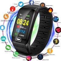 BANGWEI 2019 спортивные Смарт часы Для мужчин Фитнес трекер сердечный ритм измерять кровяное Давление для отображения данных по содержанию кисл