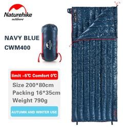 Naturehike Slaapzak Wit Ganzendons Envelop Type Ultralight Camping 800FP Warme Waterdichte Slaapzakken NH17Y010-R