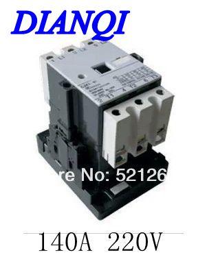 CJX1 3TF CJX1-140/22  3tf51-220v  contactor ac 220V  140A 50HZ/60HZ Original new lp2k series contactor lp2k06015 lp2k06015md lp2 k06015md 220v dc