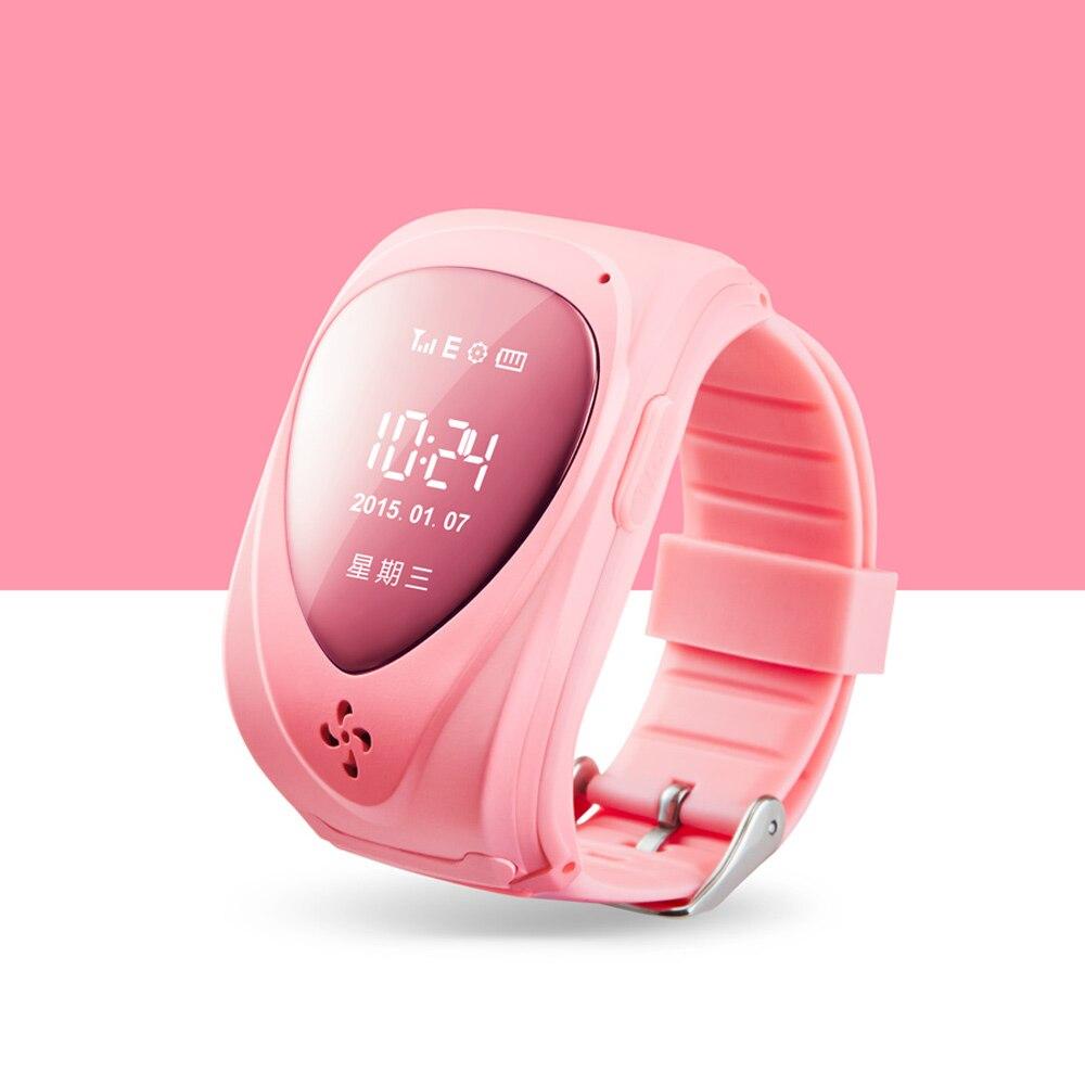 Spy Watch Phone GSM GPS Tracker Watch For Kids Child Smart