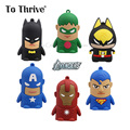 Mini Cartoon The Avengers Capacity 4000mAh Power Bank Universal Phone Charger Battery Pack Portable Battery Charge For All Phone