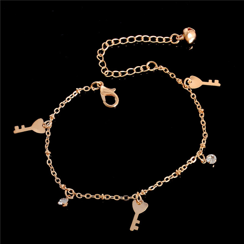 HTB19RxSLpXXXXXhXXXXq6xXFXXXC Golden Foot Chain Jewelry Spirituality Ankle Bracelet For Women - 5 Styles