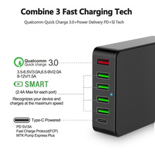 3.0 Port USB Wall Charger Quick Charge 3.0