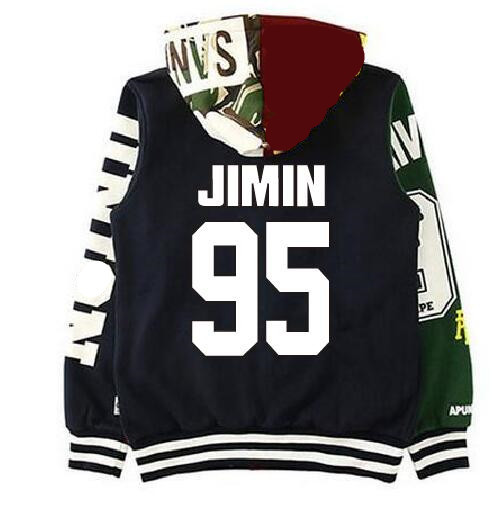 BTS BAPE Members Jackets AAPE