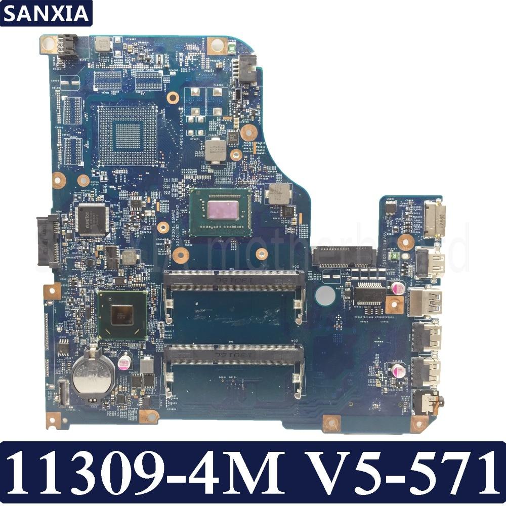 KEFU 11309-4M Laptop motherboard for Acer V5-571 Test original mainboardKEFU 11309-4M Laptop motherboard for Acer V5-571 Test original mainboard