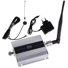 LCD Display ! 2G 900MHz GSM Repeater GSM Celulares Phone signal Booster GSM Mobile Phone Signal Repeater Amplifier With Antenna