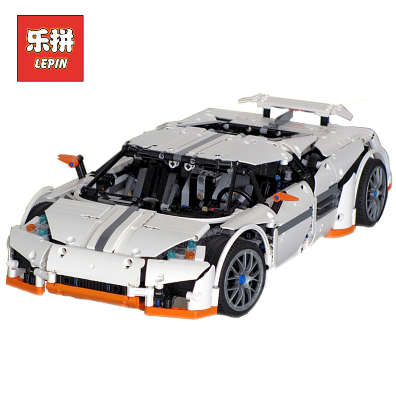 Lepin 20052 1950Pcs Technic Series The Classic Predator Supercar Set MOC-2811 Building Blocks Bricks DIY Toys Model for Children lepin 20052 the predator supercar set moc 2811 diy building blocks bricks children educational toy christmas gift lepin technic