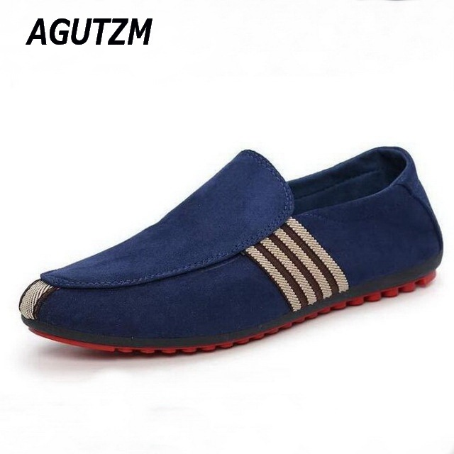 8e8e1ebe9079 2018 Man Shoes Walking Ventilation Casual Male Men sapato masculino Red  Bottom Canvas Slip Driving Moccasin Loafer Flat Shoes