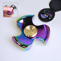 Fidget Spinner Tri Spinner Finger Spinner Metal Hand Spinner Anti Stress ADHD Adults Children Educational Kids