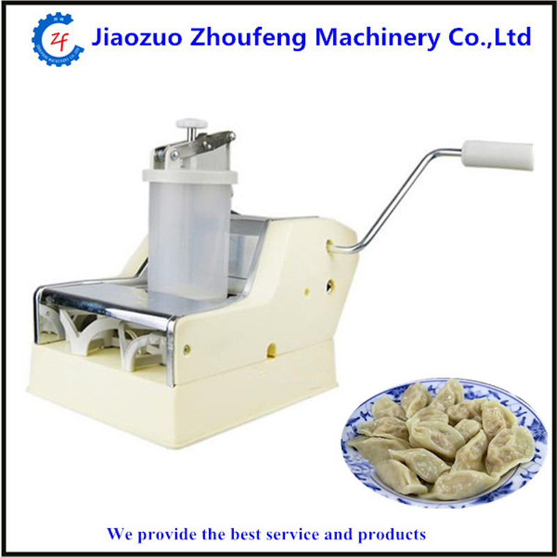 Hot sale mini home use manual momo dumpling making machine   ZF high quality household manual hand dumpling maker mini press dough jiaozi momo making machine