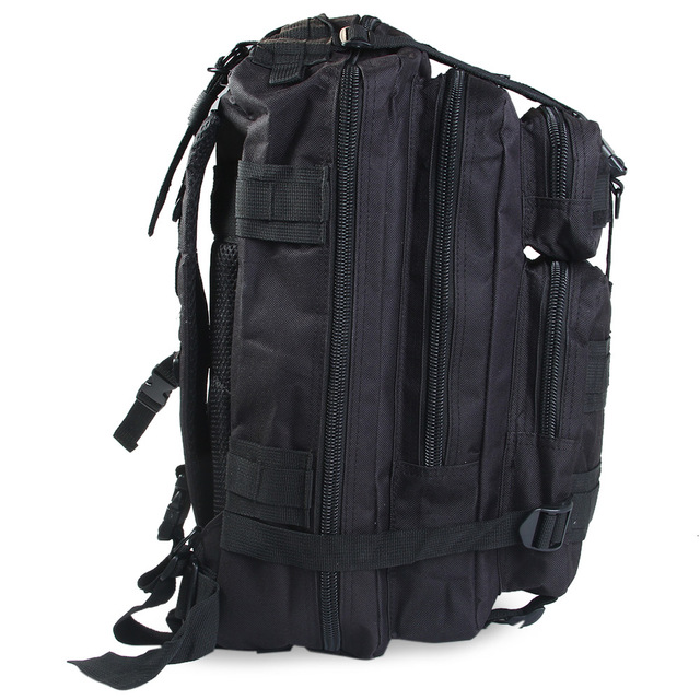 25L 3P Tactical Backpack Military Army Outdoor Bag Rucksack Men Camping Tactical Backpack Hiking Sports Molle Pack Climbing Bags 3