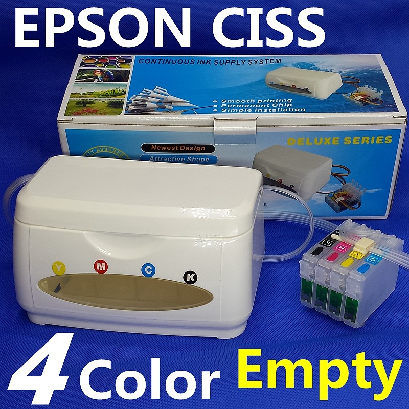 T1251-T1254 NX125/NX625/NX420 Workforce520/320/323/325CISS ink tank Printer Continuous Ink Supply System