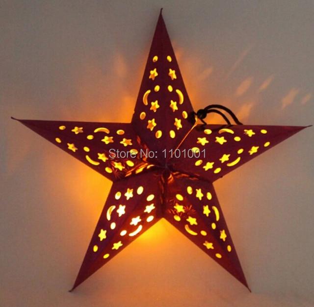 60cm24 inch flower paper star lantern lampshade party decor craft 60cm24 inch flower paper star lantern lampshade party decor craft wedding decoration multi color aloadofball Gallery