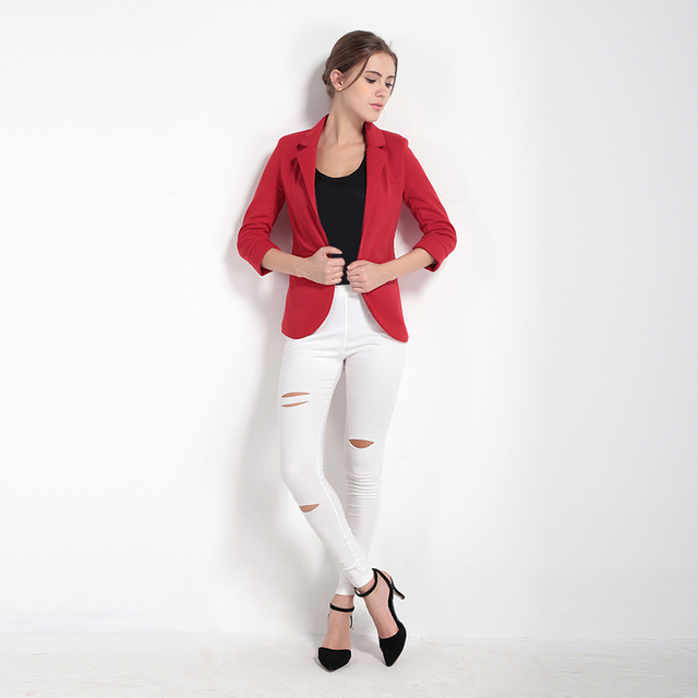Ladies Coloured Blazers