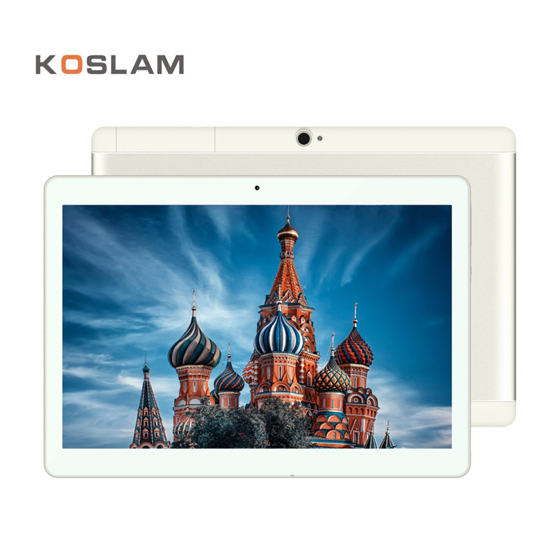 "Baru 10.1 Inch Android 7.0 Tablet PC 1920x1200 IPS Quad Core 2GB RAM 16GB ROM Dual SIM Card 4G LTD FDD Panggilan Telepon 10.1 ""Phablet"