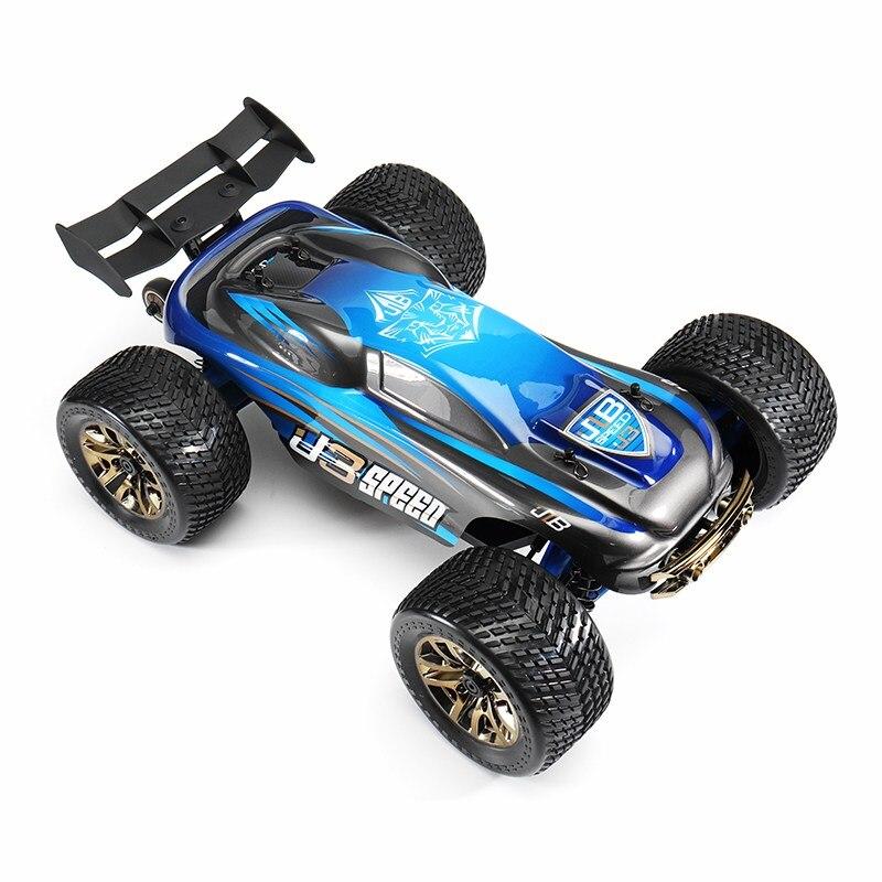 JLB Racing 1/10 J3 Vitesse 120A 4WD 2.4 GHZ Truggy RC Voiture RTR avec Émetteur Pour Enfants Cadeaux Intelligence Présent