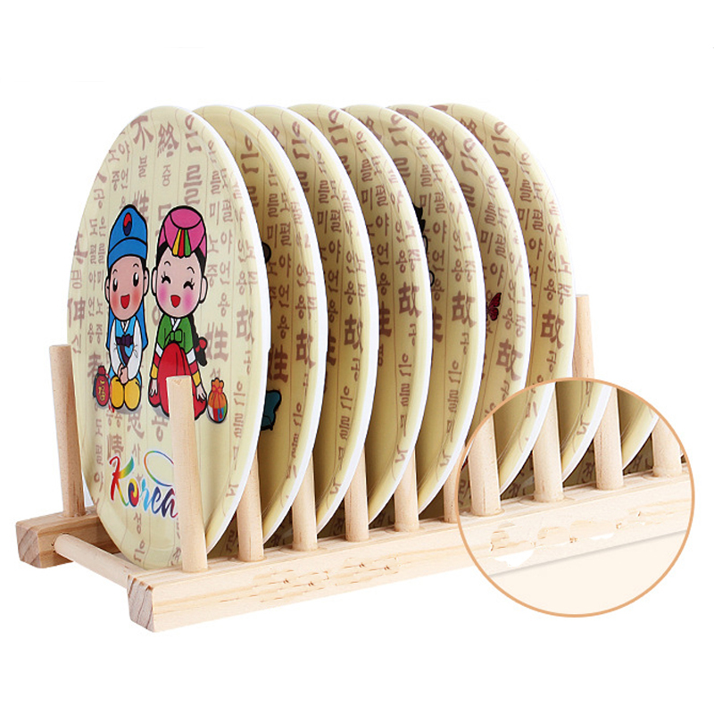 New Durable Healthy Wooden Folding Dish Drying Rack Pot Lid Flatware Holder Plate Display Kitchen Storage Organizer Bookrack-in Storage Holders \u0026 Racks from ...  sc 1 st  AliExpress.com & New Durable Healthy Wooden Folding Dish Drying Rack Pot Lid Flatware ...