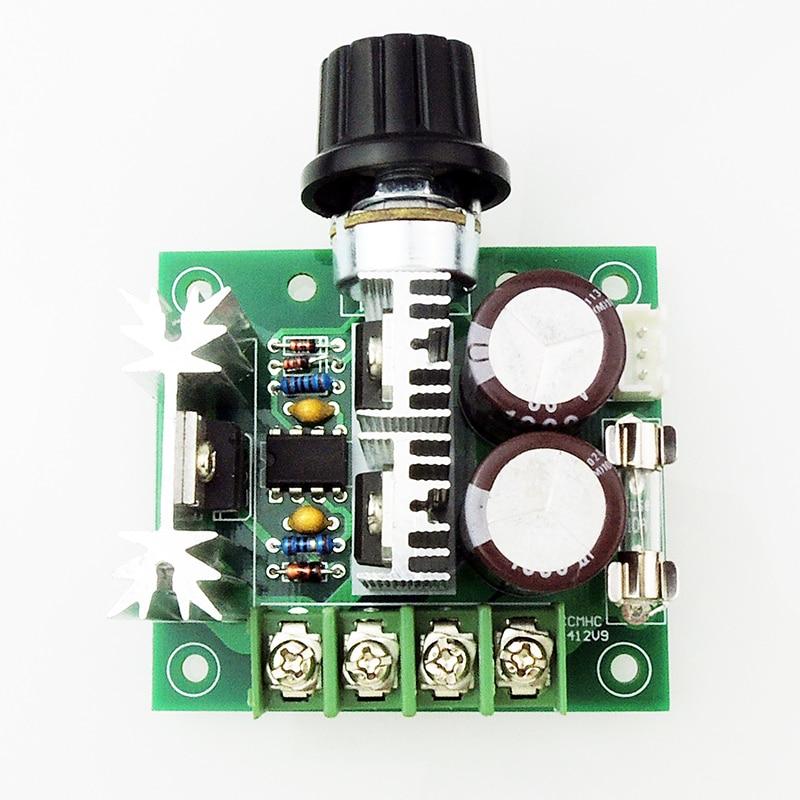 PWM CCMHC DC motor speed regulator 12V24V30V40V controller 10A 10 50v 100a 5000w reversible dc motor speed controller pwm control soft start high quality