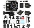 Wimius wifi 30fps sports action camera 4 k ultra hd 1080 p 60fps 16MP Mini Capacete De Vídeo Camara Ir Debaixo D' Água 40 M Pro + Acessórios