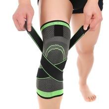 font b Fitness b font Running Cycling Bandage Knee Support Braces Elastic Nylon Sports 1