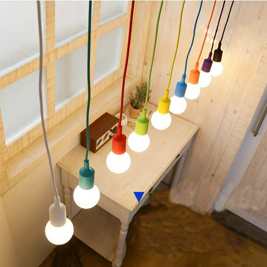 Colorful pendant lamp modern art bar restaurant bedrooms large colorful pendant lamp modern art bar restaurant bedrooms large shopping mall muuto e27 9w led aloadofball Choice Image