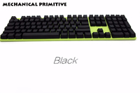 104 108 Blank PBT Keycap White Black Pink Blue Ect Color For OEM Cherry MX Switches