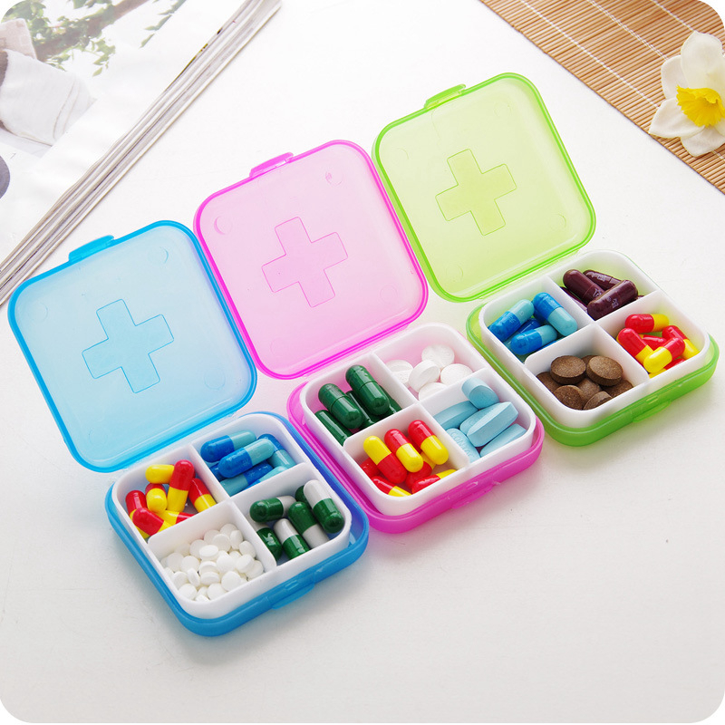 Creative Portable Multifunction Drug Classification Organizer Unisex High Capacity Security Packe Accessory
