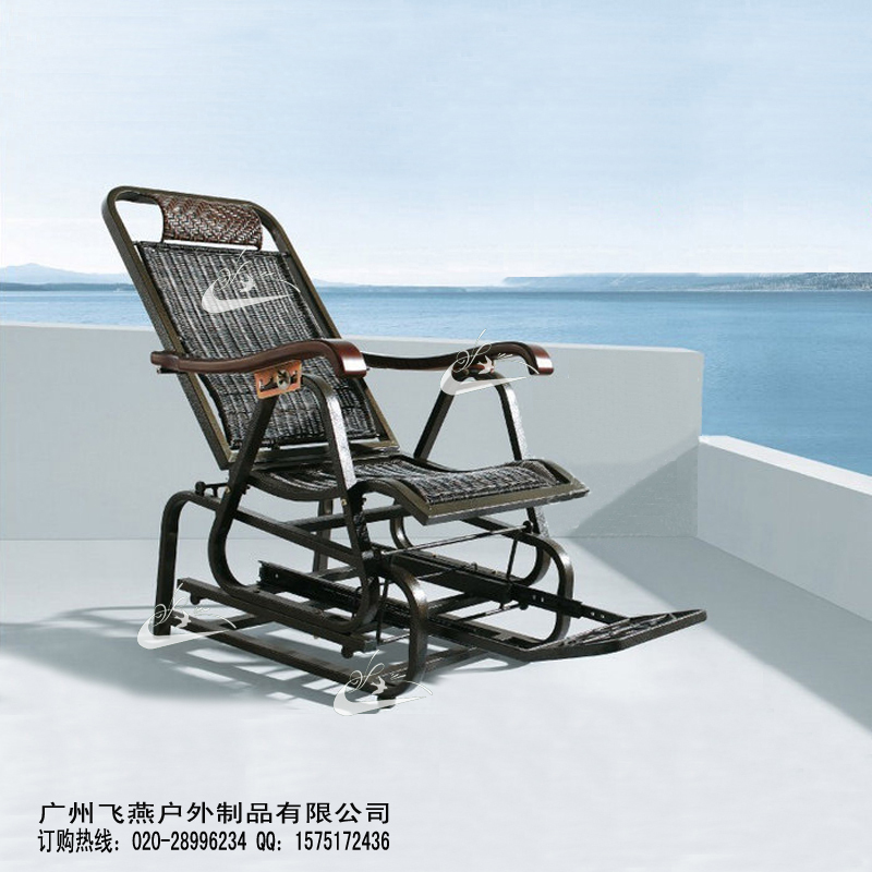 Guangzhou Export Bamboo Rattan Rocking Chair / Chaise Lounge Elderly /  Lunch Couch / Chair Backrest Happy / Beach Chairs Rocking On Aliexpress.com  | Alibaba ...