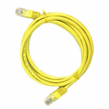 Cat5e UTP Network Patch Cable 2Pieces Per Bag High Speed RJ45 Ethernet Cord Pass Fluke Test 1.5M Lead For Internet