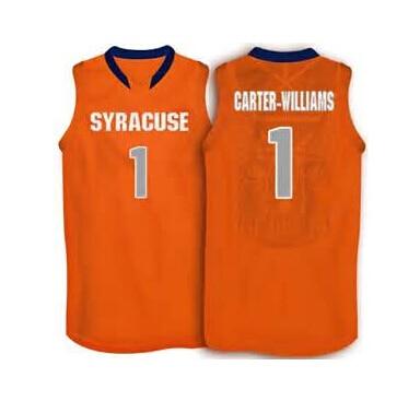 1 Michael Carter Williams Syracuse Orange Basketball Jersey Orange