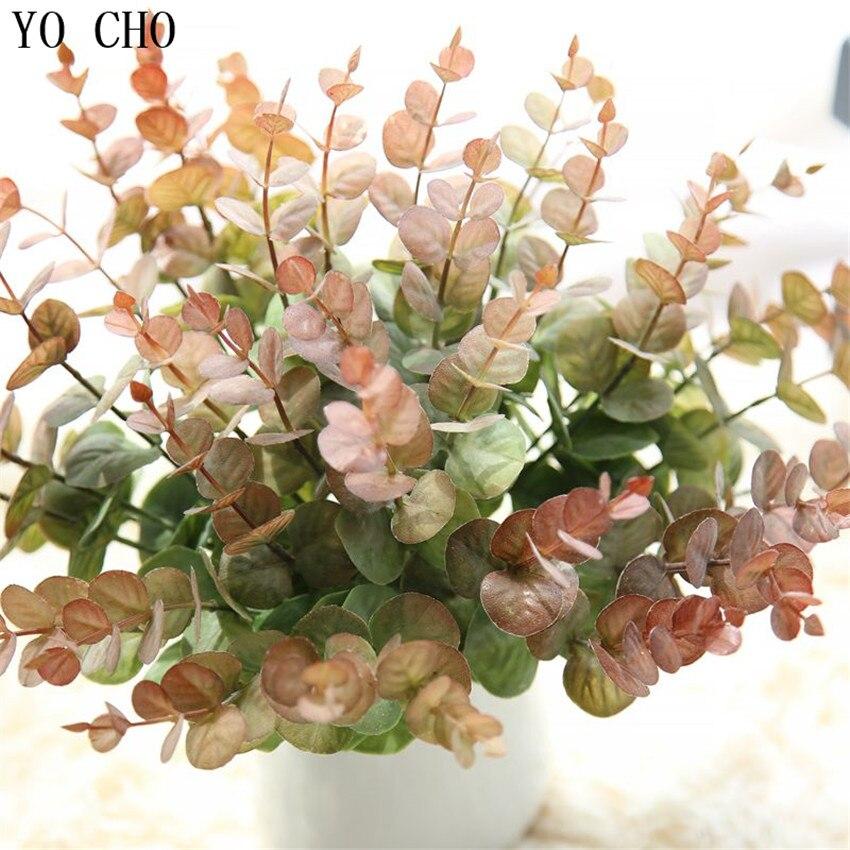 DIY Handmade Plastic Grass Wheat Plant Artificial Bouquet Home Hotel Party Decor