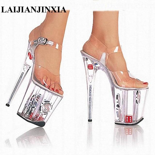 20 zentimeter hohen pumps sandalen kristall   schuhe schuhe schuhe schuhe und sandalen   modell
