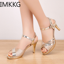 Women Sandals 2019 Summer Shoes Woman Dress Shoes Bling Wedd