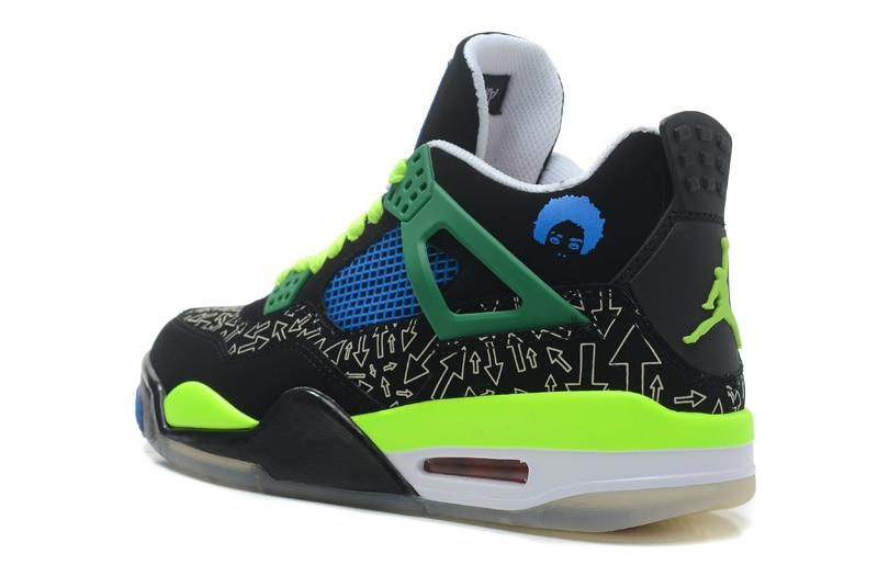 sale retailer e65fc fb34d Air Jordan Retro 4 Men and women Basketball Breathable Men's Basketball  Shoes Sports Sneakers Outdoor 36-46