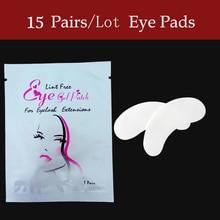 30/50/100 пар/лот шелк глаз колодки, под глаза патч, наращивания ресниц безворсовой глаз колодки из Южной Кореи