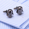 2016 New Arrival Fashion Star Wars Cufflinks Sparta Cuff Links Men Shirt Charm Copper Cufflinks Wholesale