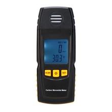 Портативный Угарный газ метр детектор угарного газа ЖК-дисплей цифровой Угарный газ ручной измеритель CO Газоанализаторы