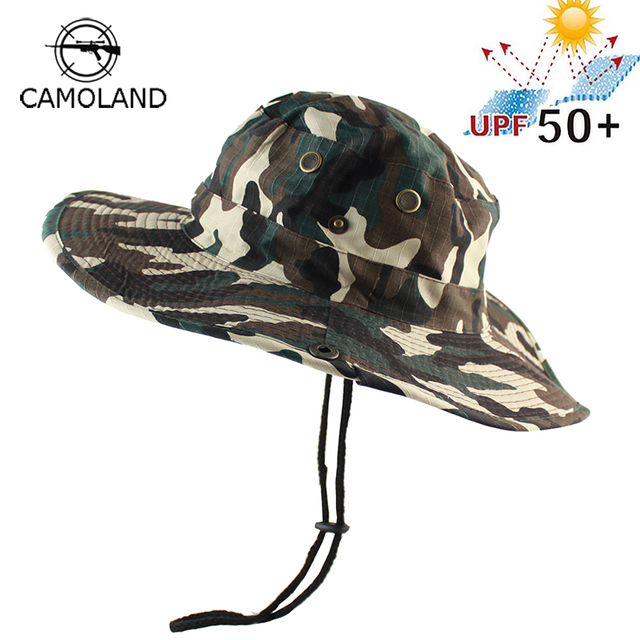 New UPF 50+ Summer Bucket Hat Men Women Boonie Hat Outdoor UV Protection  Wide Brim 97cd91996e