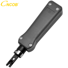 CNCOB TELECOM IMPACT TOOL,wire tracker Punch Down Impact Professional Telecom Phone Cable Cat5/Cat6 RJ11 RJ45 Network Wire Cut