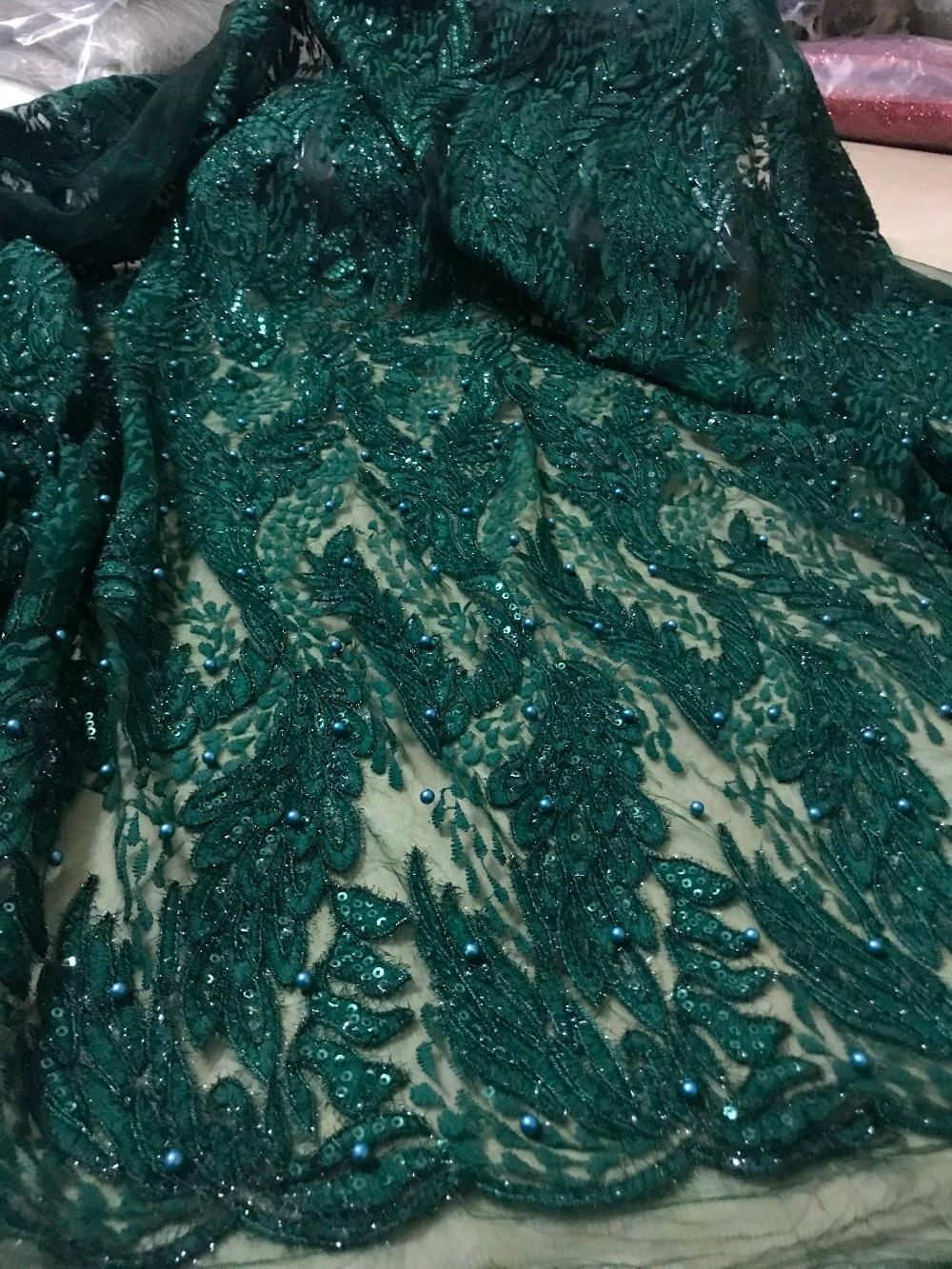 Neueste JIANXI.C 4903 afrikanische guipure spitze stoff mit stickerei mesh nigerian tüll spitze stoff-in Spitze aus Heim und Garten bei  Gruppe 1