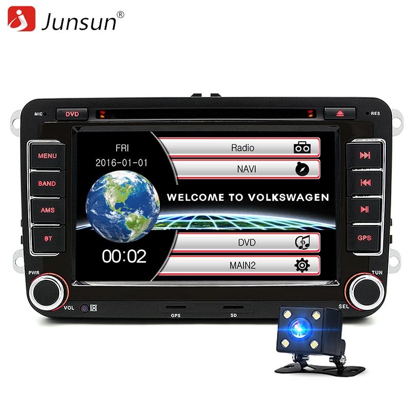 7 inch 2 Din Car DVD GPS font b Radio b font Player for Volkswagen VW