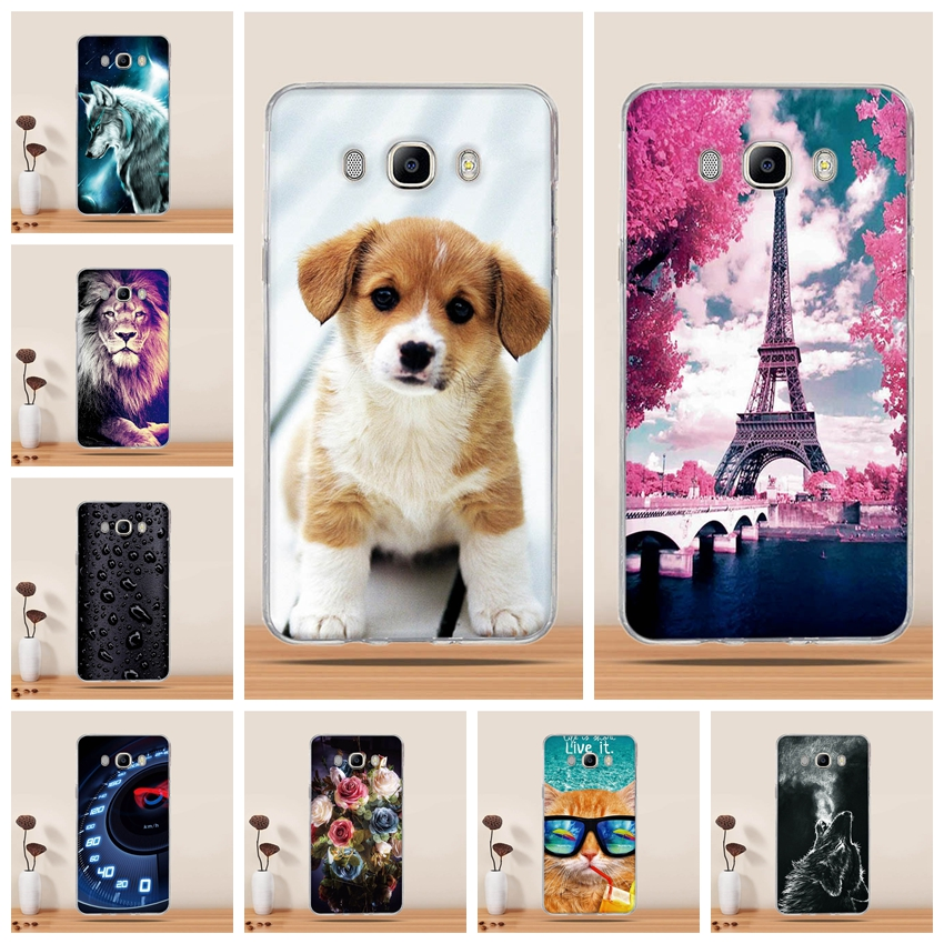 Galleria fotografica Phone Cases For Samsung Galaxy J3 2016 Case Silicone for Samsung Galaxy J1 2016 Cover For Samsung Galaxy J5 2016 J1 J7 2016 case