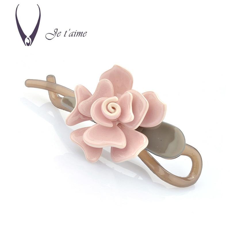 French Elegance Acetate Sheets Hair Accessories Flower Hair Pins For Women Butterfly Hair Clips Handmade Hair Bows