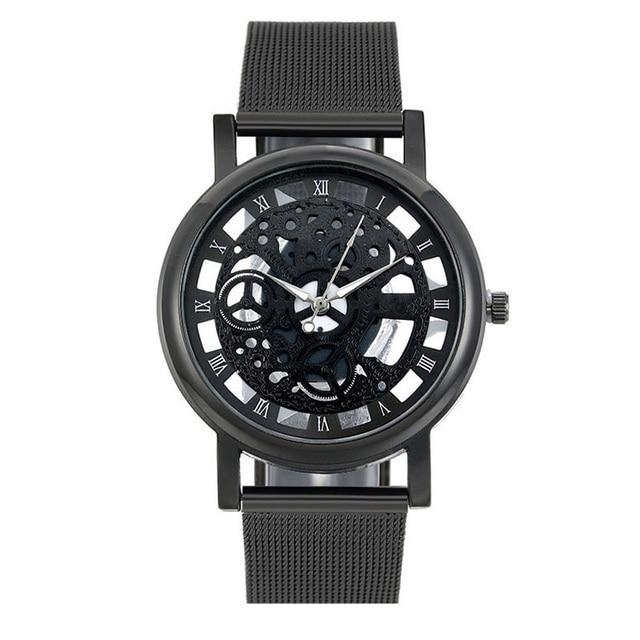 Men Skeleton Watch
