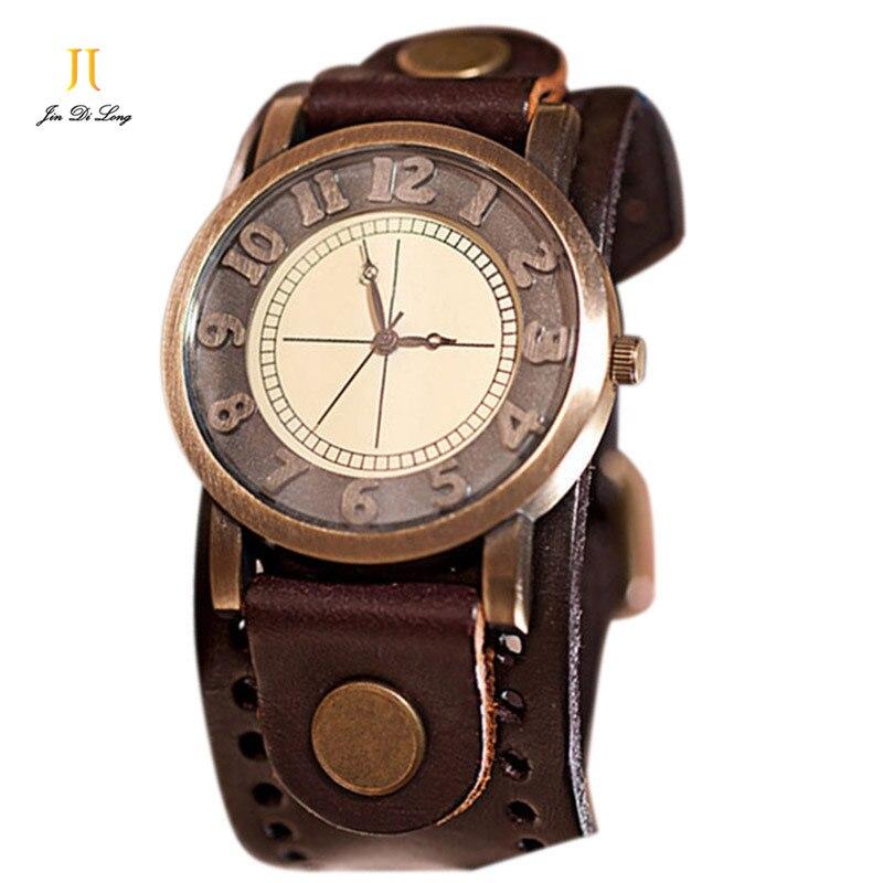New Fashion Retro Women Bracelet Watches Antique Lady Wristwatches Quartz Vintage Women s Bangle Watch Genuine