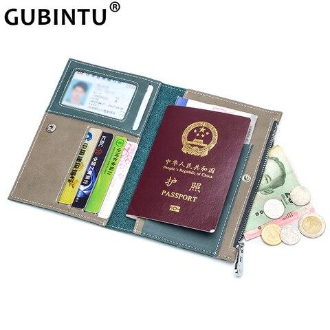 Rachado na Capa para a Condução Condução do Carro Bolsa de Passaporte do Titular Titular do Cartão Gubintu Motorista Couro do Carro Bolsa Licença Documento Certificado do Cartão Carteira Caso
